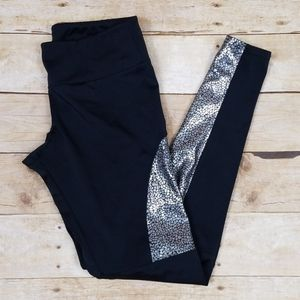 Onzie Black Holographic Foil Leggings